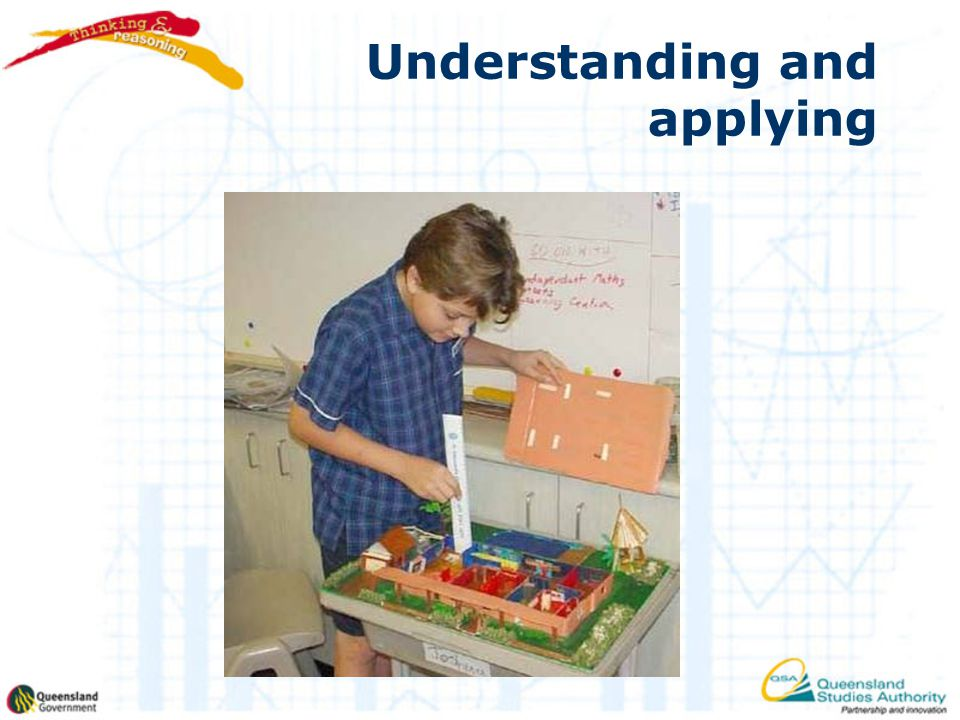 Understanding and applying