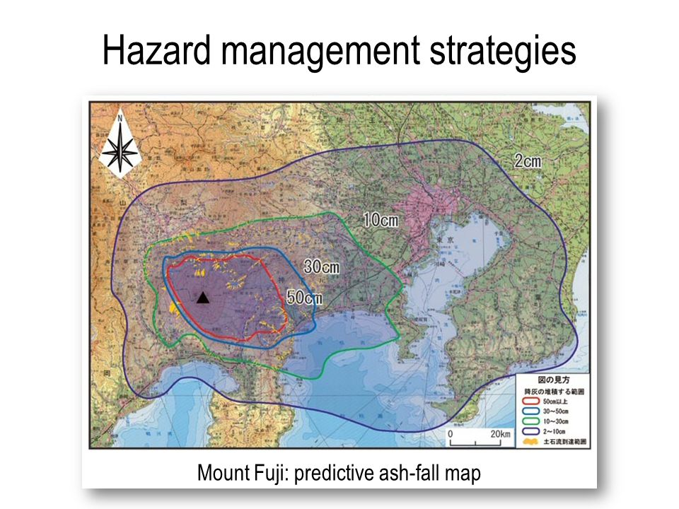 Hazard management strategies Mount Fuji: predictive ash-fall map