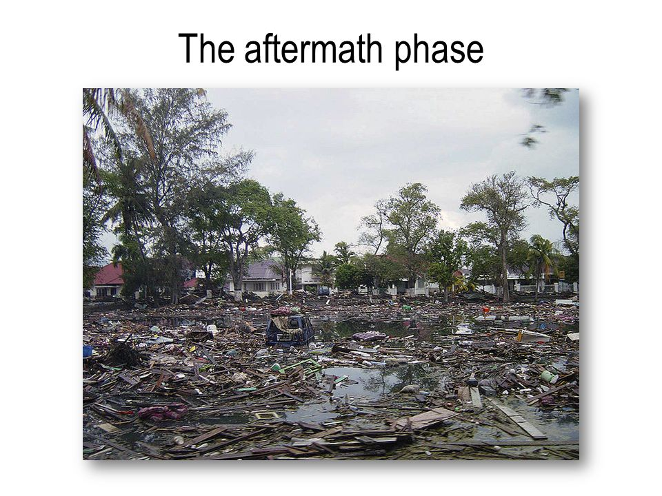 The aftermath phase