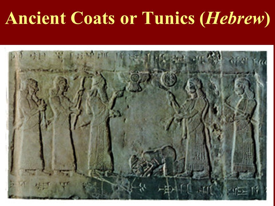 Ancient Coats or Tunics (Hebrew)