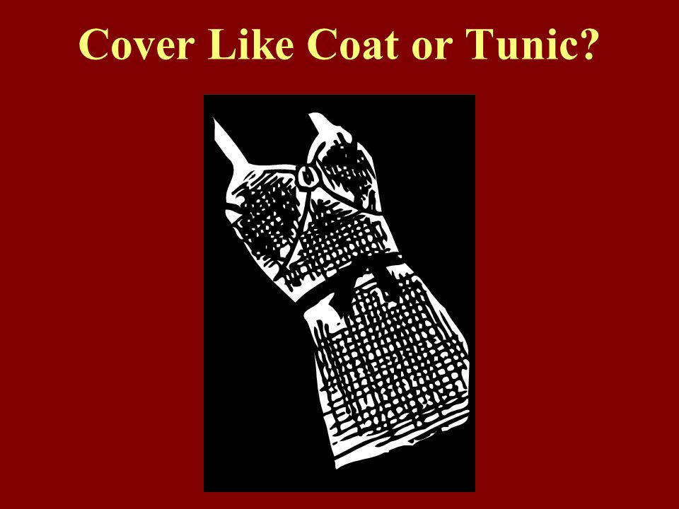 Cover Like Coat or Tunic