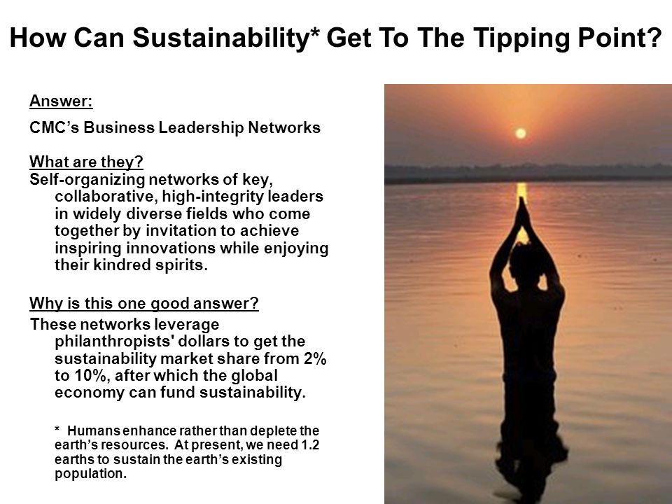 3 Answer: CMC's Business Leadership Networks What are they.