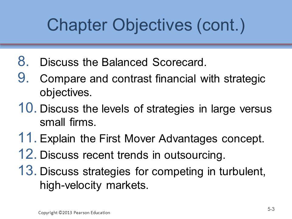 Porter's Five Generic Strategies 5-34 Copyright ©2013 Pearson Education