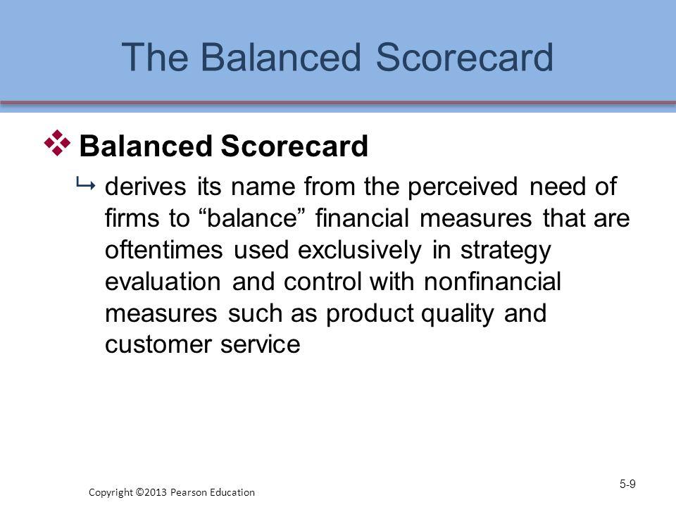A Comprehensive Strategic- Management Model 5-10 Copyright ©2013 Pearson Education