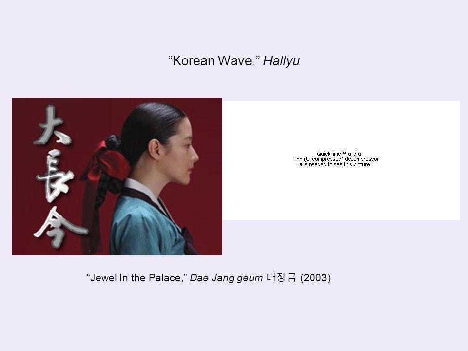 Korean Wave, Hallyu Jewel In the Palace, Dae Jang geum 대장금 (2003)