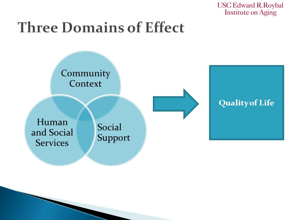 Community Context Social Support Human and Social Services Quality of Life