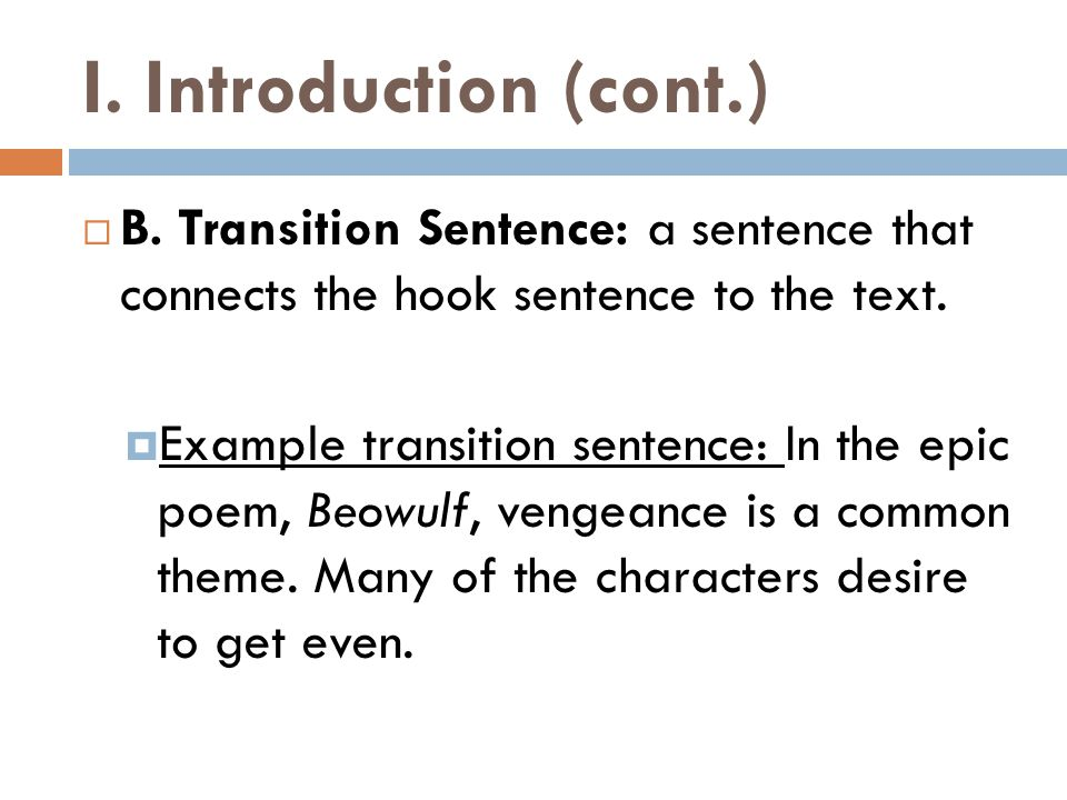 III.Conclusion Paragraph  A.