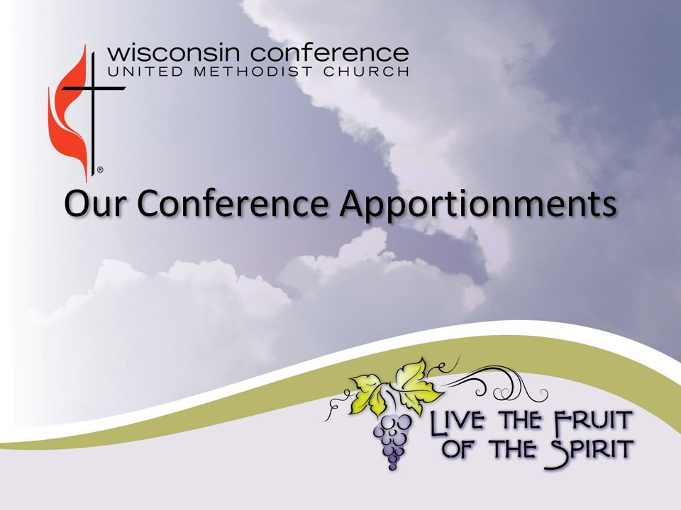 Our Conference Apportionments