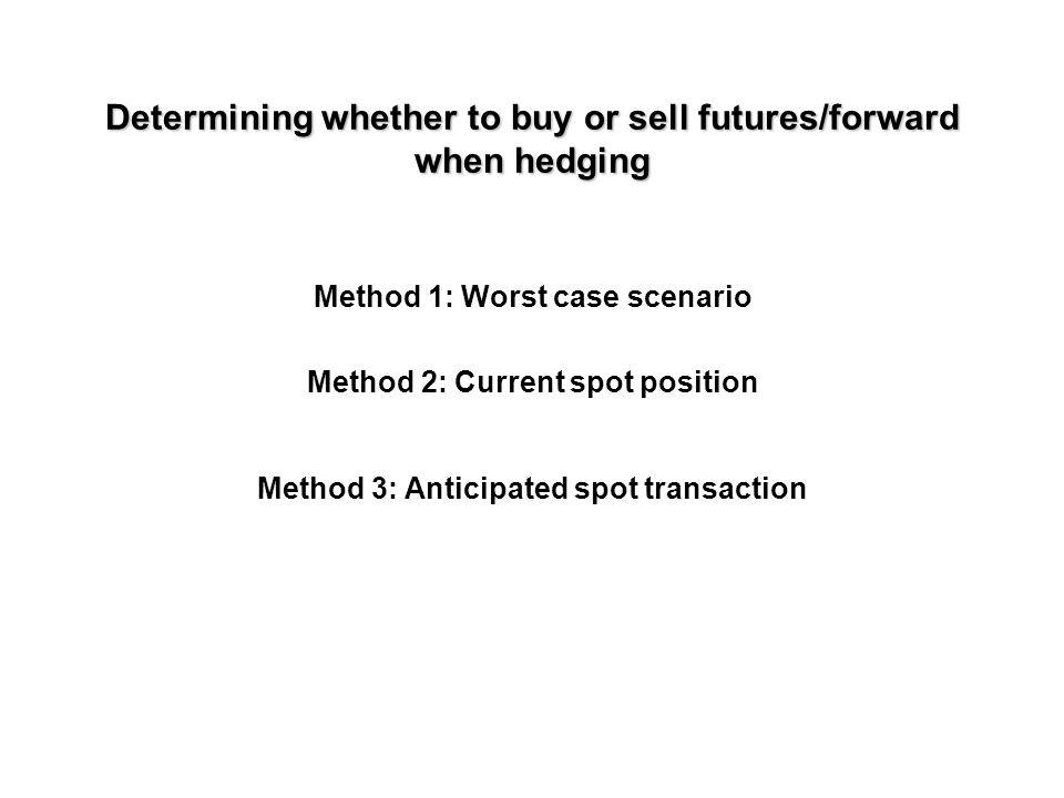 Put option hedging
