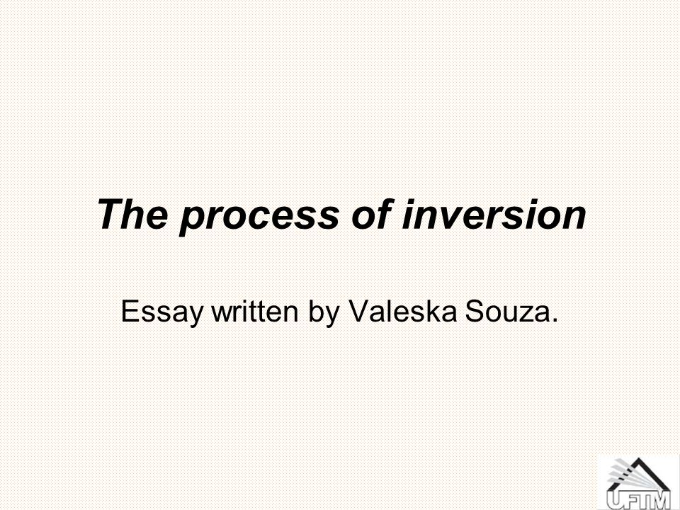 Inversion: morphology or syntax.