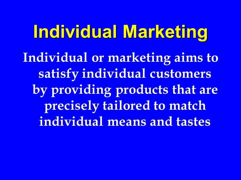 Target marketing is where we are today The key steps in target marketing are Market segmentation Market evaluation Product differentiation and positioning.