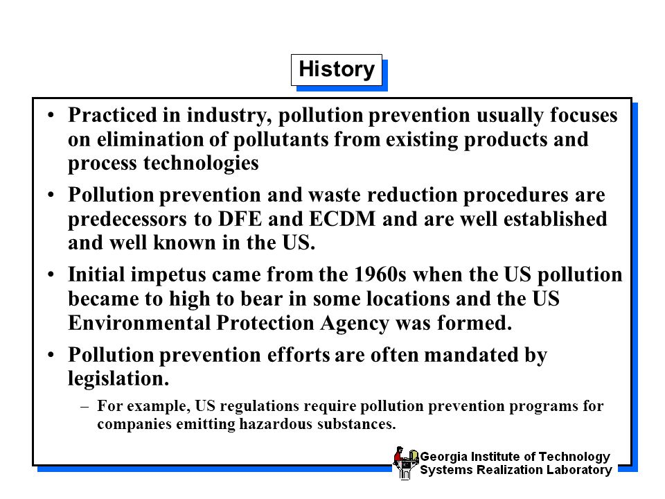 Waste Reduction by Dow Chemical Several chemical process industries have compiled an outstanding record in minimizing waste generated at their facilities.