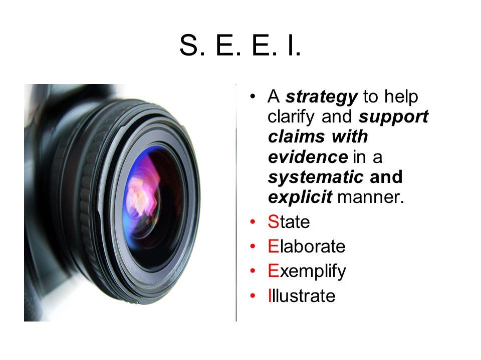 S. E. E. I.