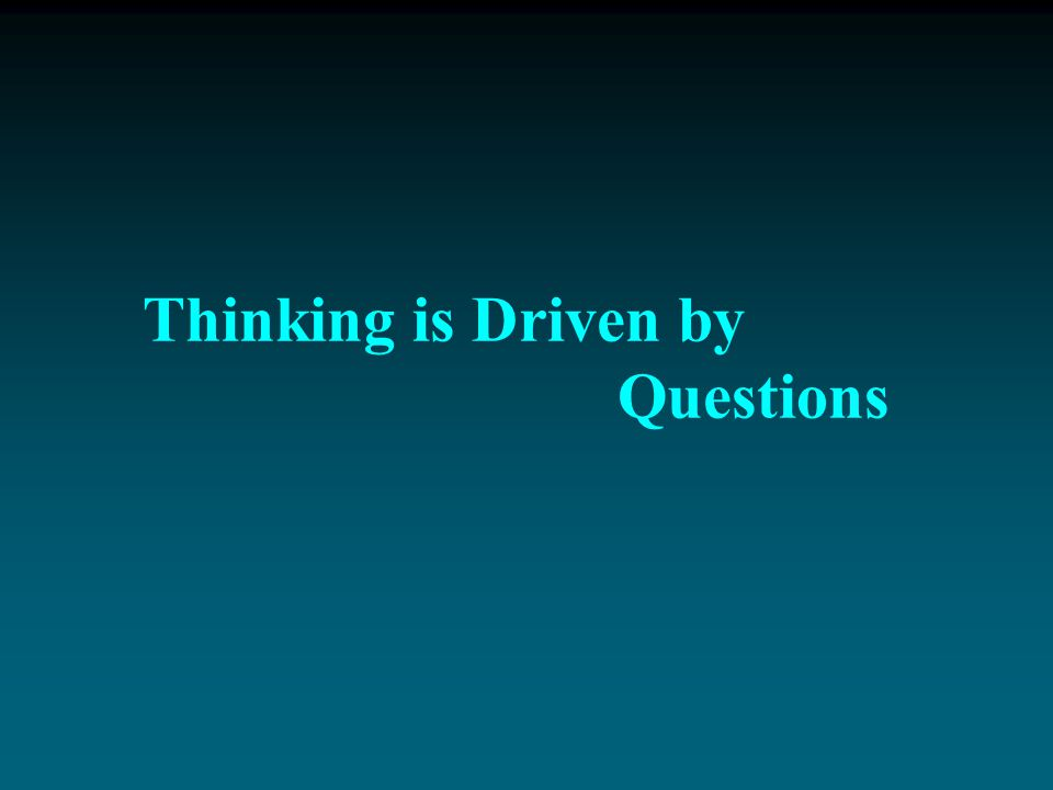 The goal of critical thinking is to establish an additional level of thinking to our thinking, a powerful inner voice of reason, to monitor, assess, a
