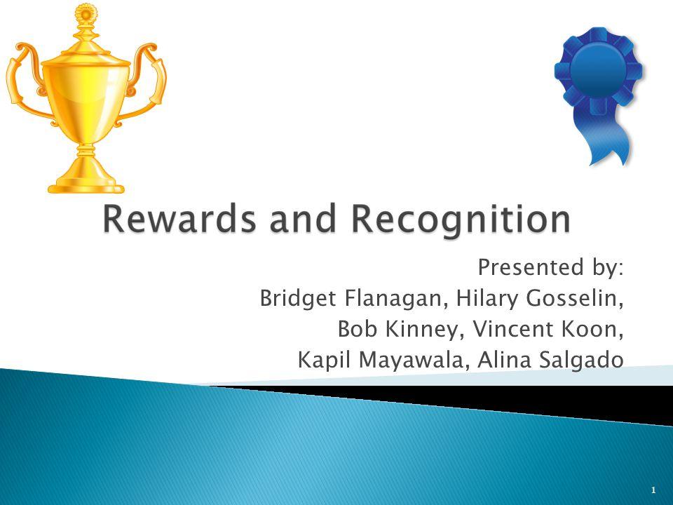 1 Presented by: Bridget Flanagan, Hilary Gosselin, Bob Kinney, Vincent Koon, Kapil Mayawala, Alina Salgado