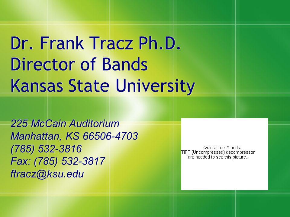 Dr. Frank Tracz Ph.D.