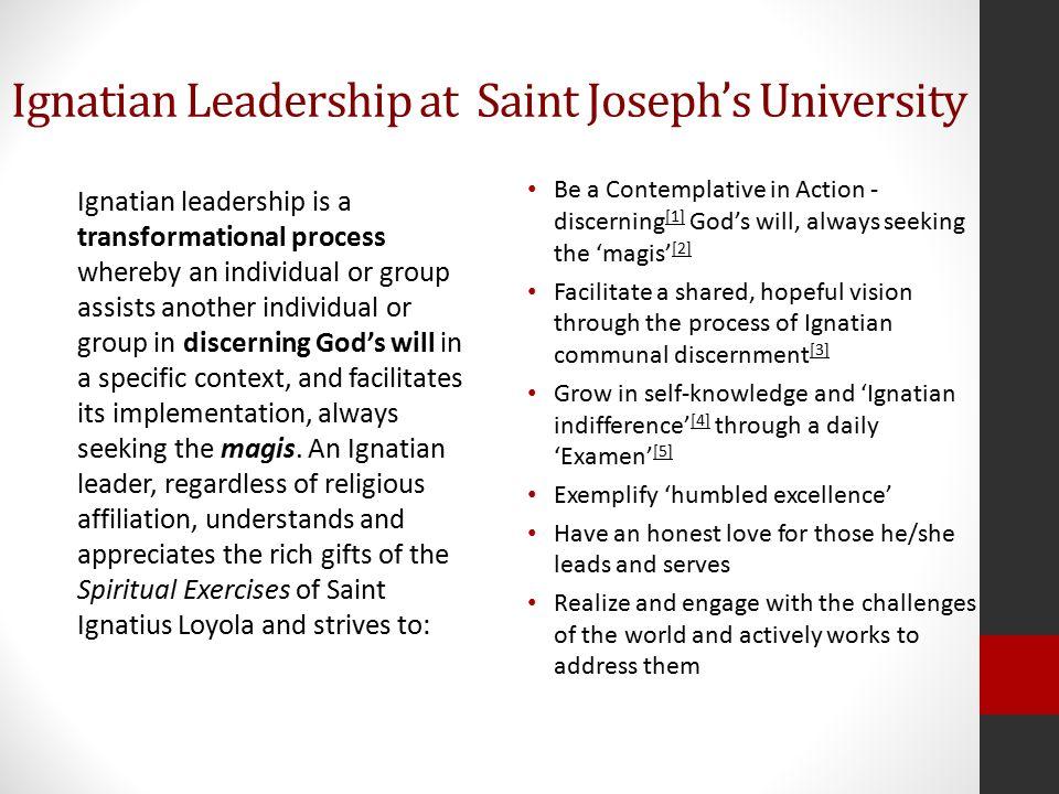 Reflections from Saint Joseph's University