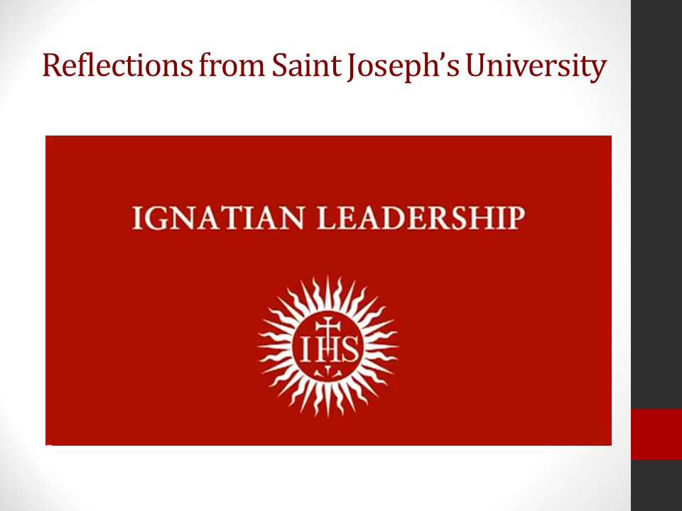 Imagine a world where the principles of Ignatian Leadership were used – How might that world be different?