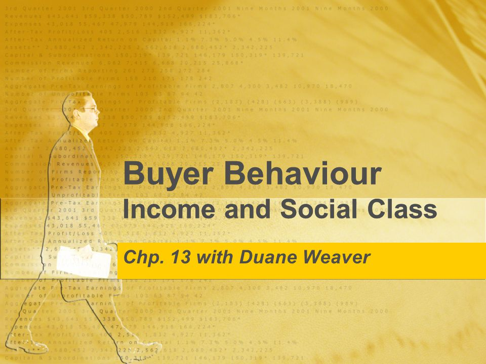 Income & Social Class OUTLINE INCOME PATTERNS $ PENDING Consumer Confidence Social Class Impacts Measuring Affect on Purchase Decisions INCOME PATTERNS $ PENDING Consumer Confidence Social Class Impacts Measuring Affect on Purchase Decisions