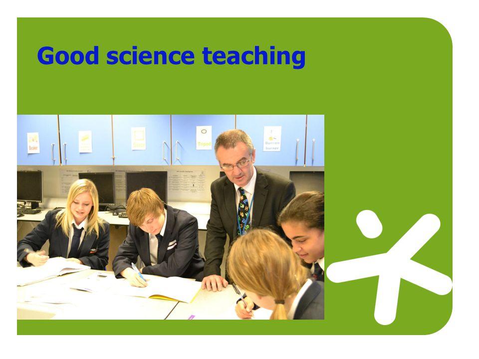 Good science teaching