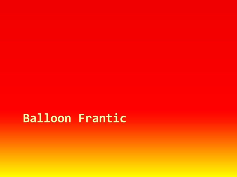 Balloon Frantic