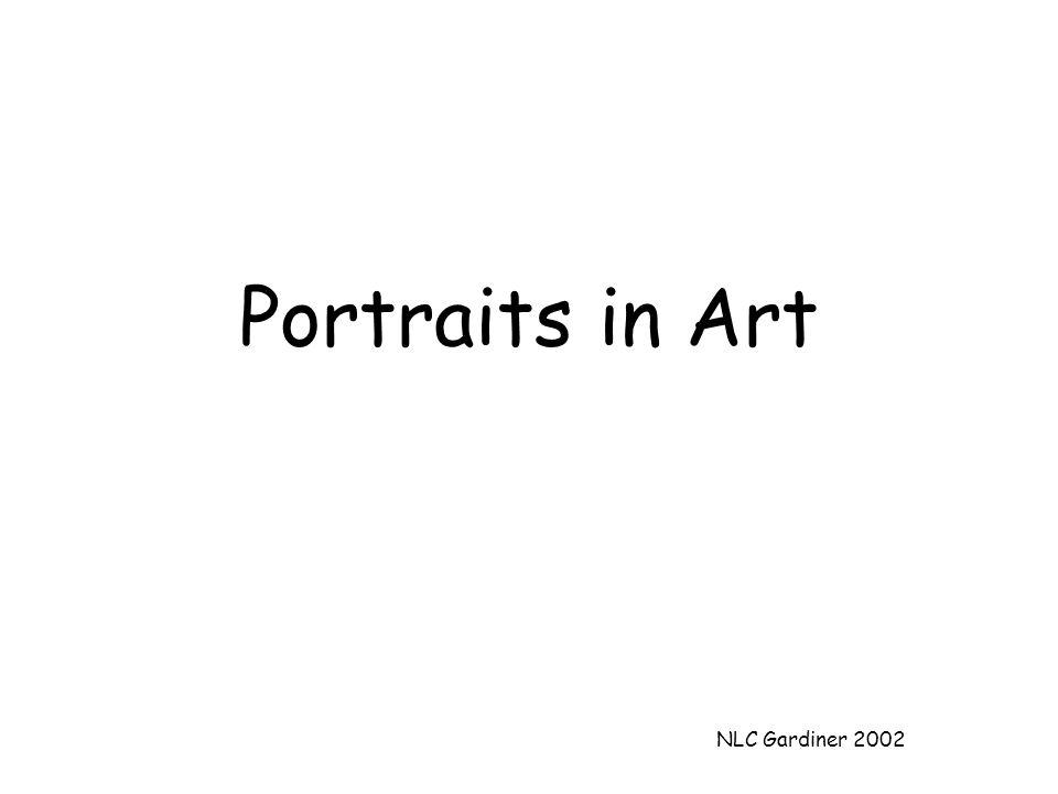 NLC Gardiner 2002 Portraits in Art