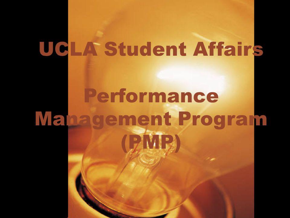 UCLA Student Affairs Performance Management Program (PMP)