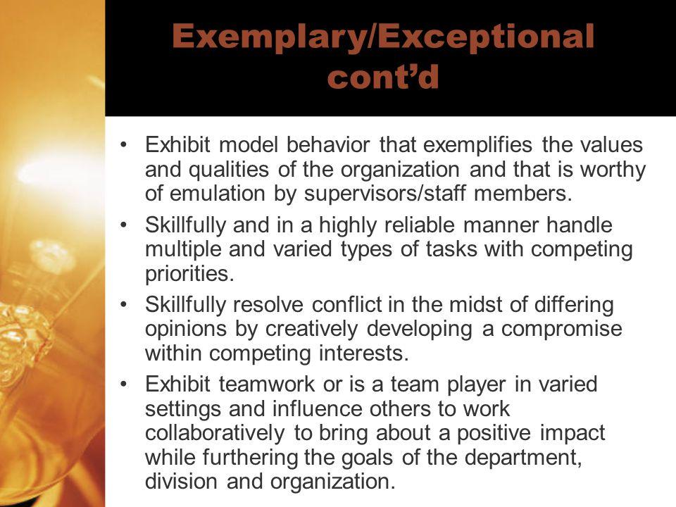 Work Competencies Communication Skills Job Knowledge Technology Skills Problem Solving Productivity/Work Quality Innovation