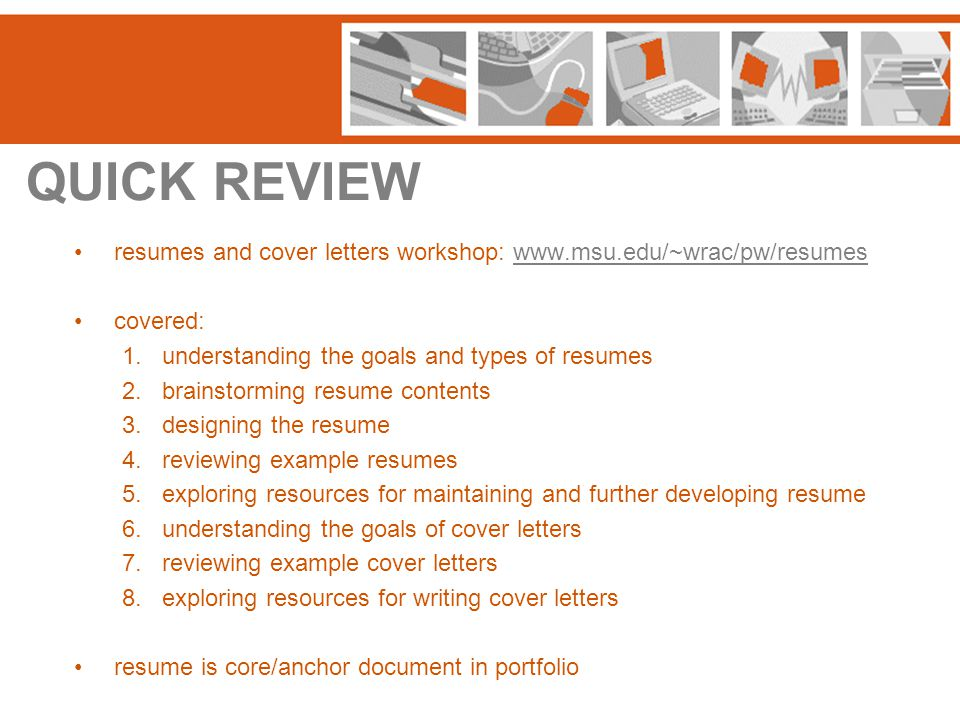 THINKING ABOUT PORTFOLIOS What do you think you'd want to include in yours.