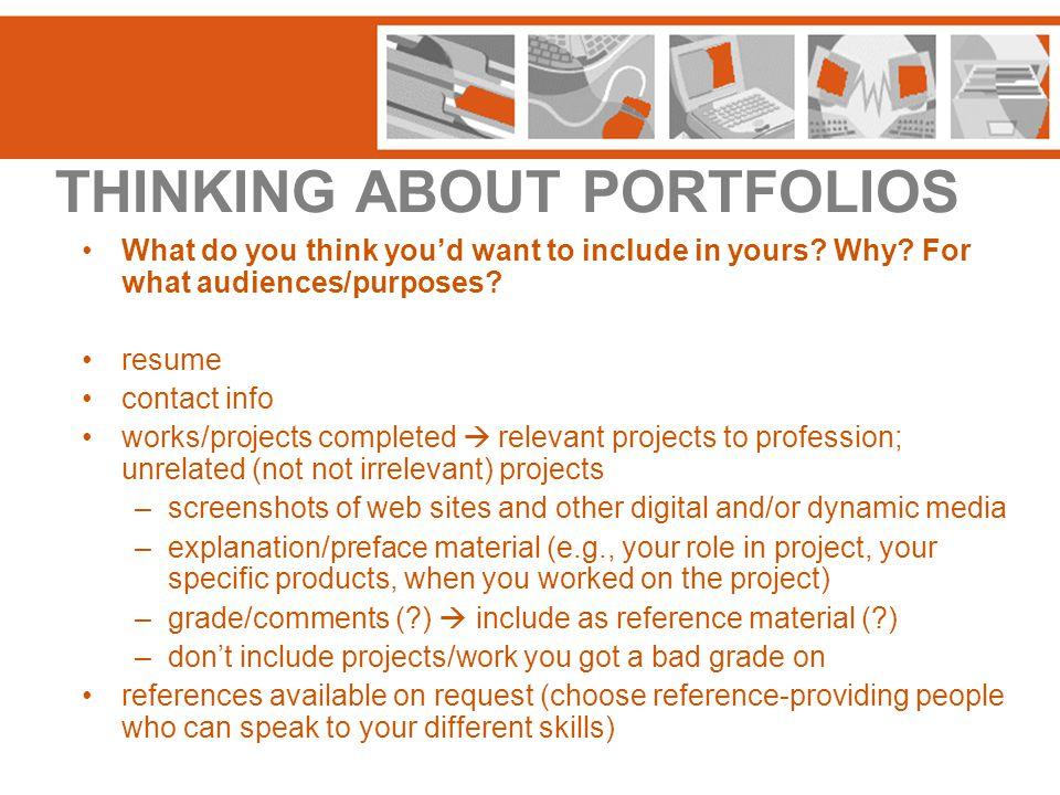 TODAY'S WORKSHOP WEB PAGE http://www.msu.edu/~wrac/pw/portfolios/