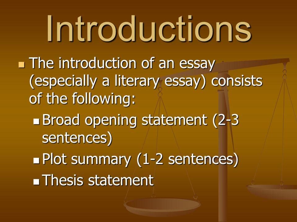 Conclusions Conclusions wrap up the major arguments/points of an essay.