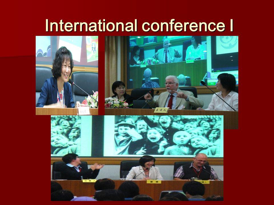 International conference Ⅰ International conference Ⅰ