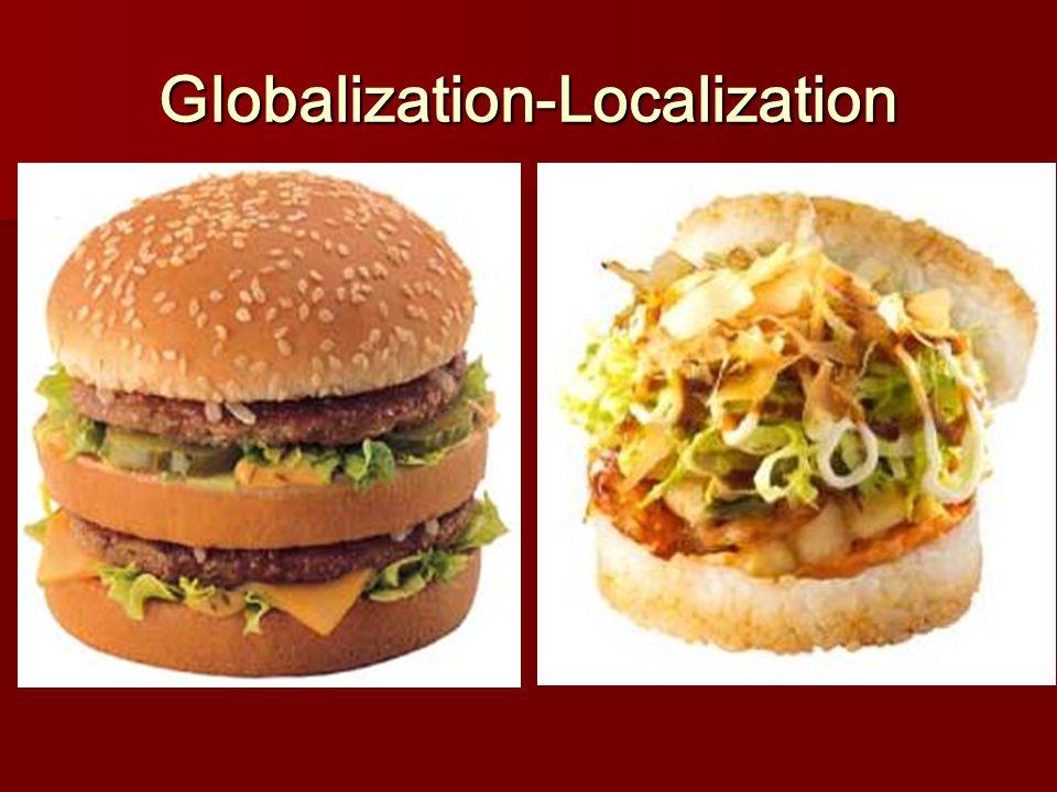 Globalization-Localization