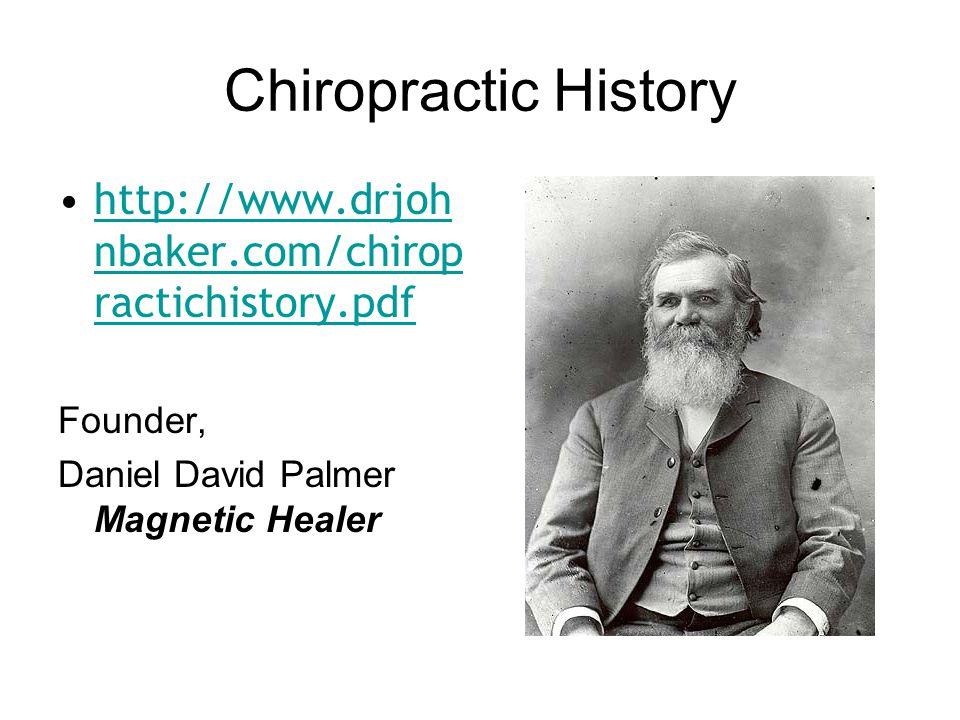 First Chiropractic Patient Mr. Harvey Lillard, Deaf Janitor