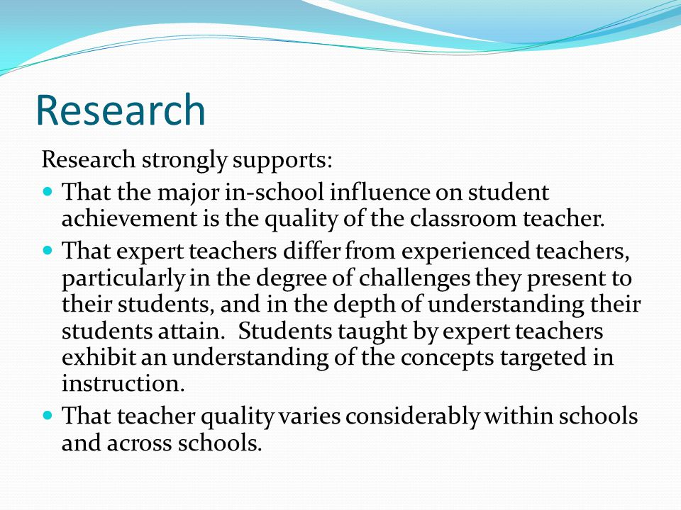 Exemplary Teachers Exemplary teachers possess and manifest the following attributes: A high level of knowledge, imagination, passion, and belief in, and for, their field.