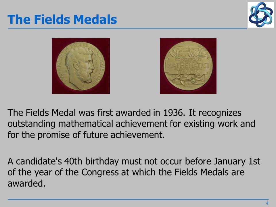 The Carl Friedrich Gauss Prize...