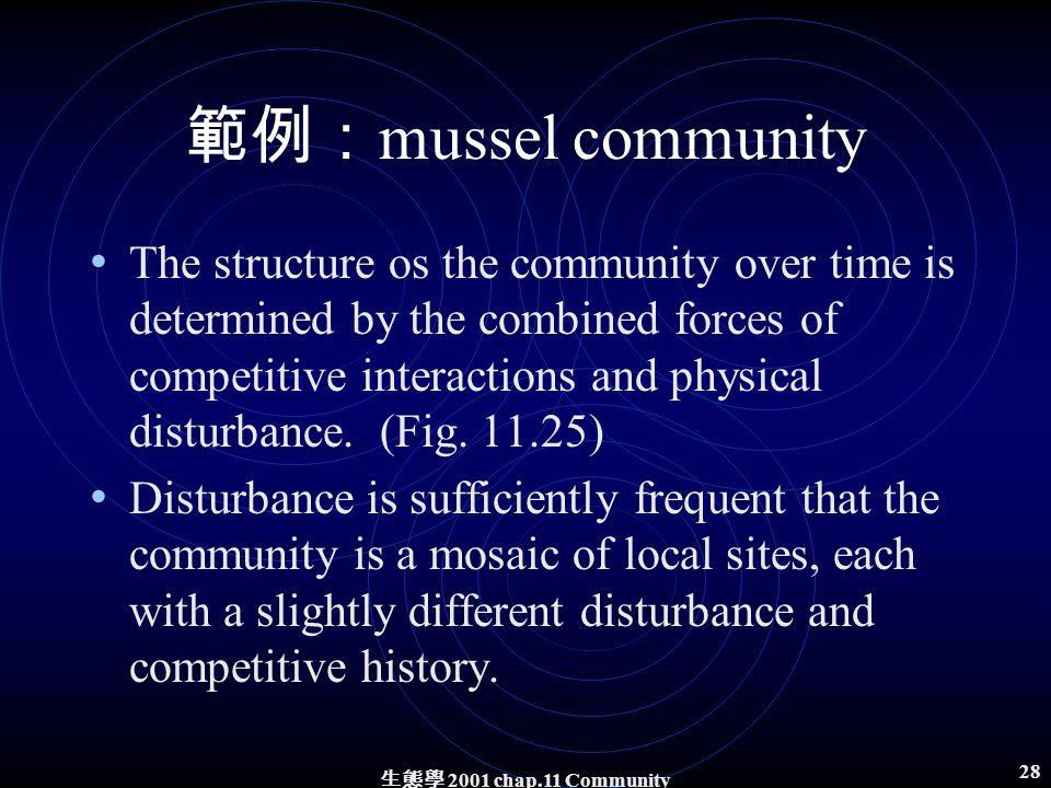 生態學 2001 chap.11 Community structure 27