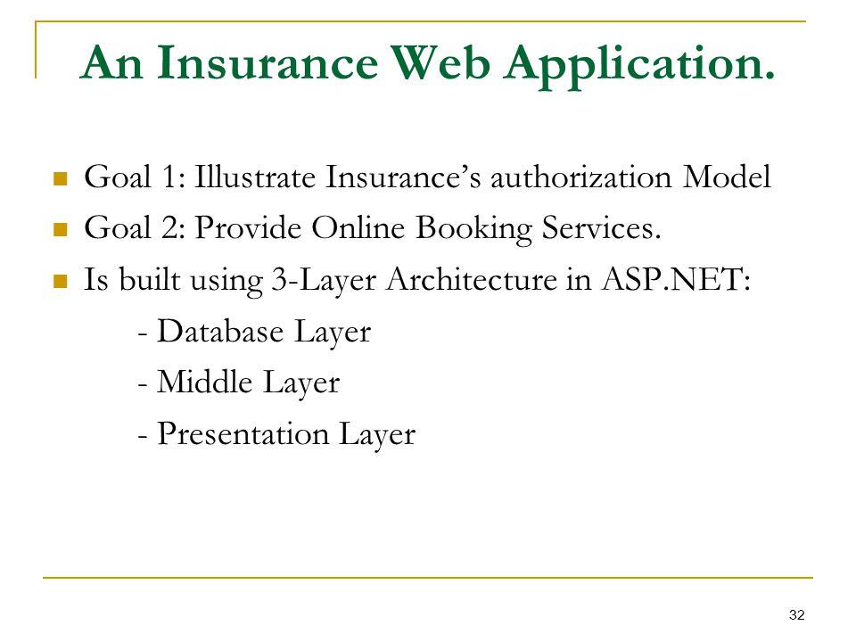 An Insurance Web Application.