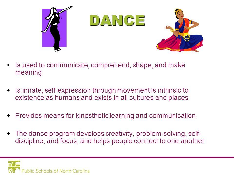 PURPOSE: Arts Education Essential Standards