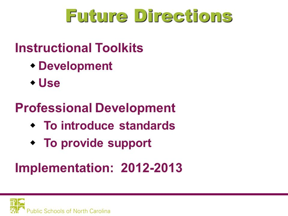 FUTURE DIRECTIONS: Arts Education Essential Standards