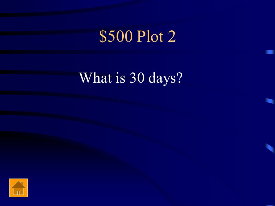 $500 Plot 2 Equality 7-2521 escapes from the Palace of Corrective Detention after…(how long )