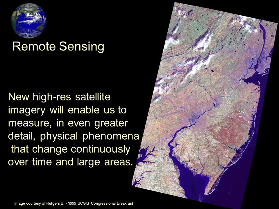 New high-res satellite imagery will enable us to measure, in even greater detail, physical phenomena that change continuously over time and large areas.