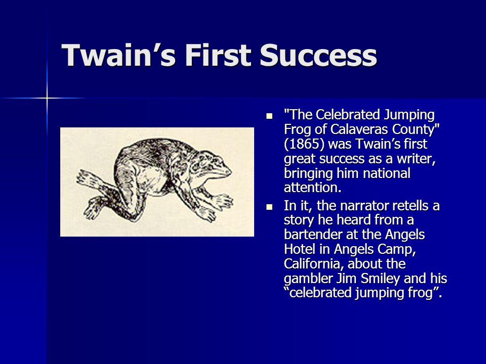 Twain's First Success