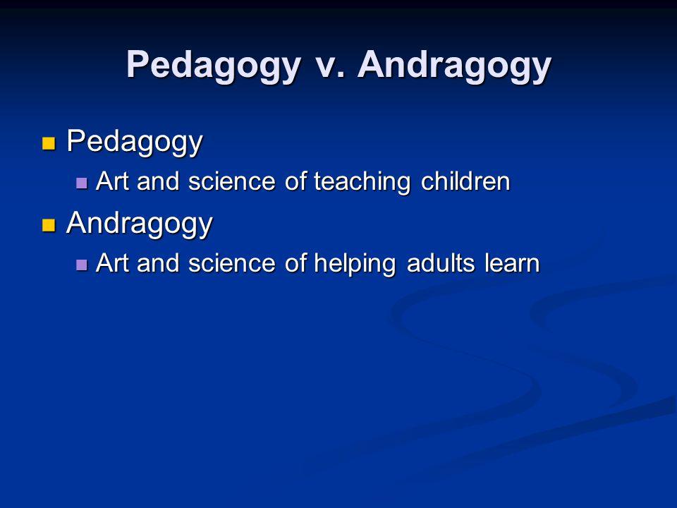 Pedagogy v.