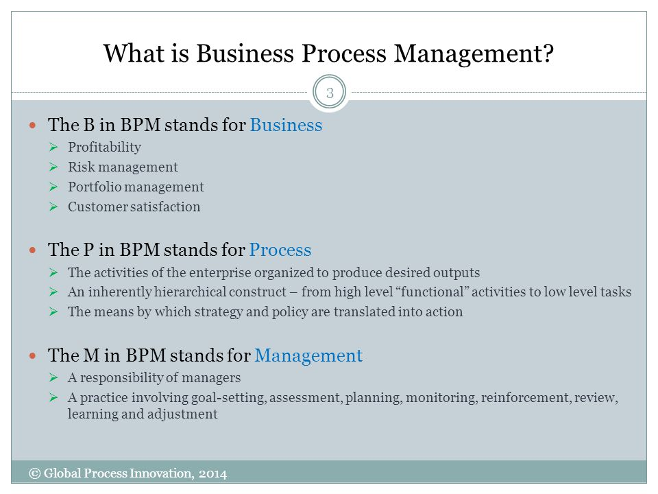 What is Business Process Management.