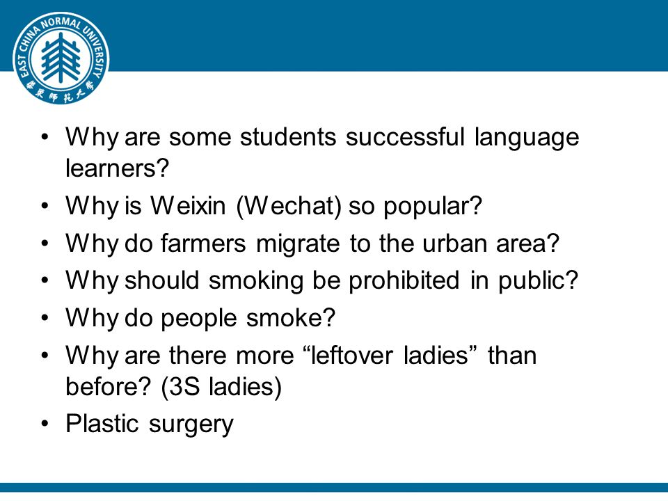 Why are some students successful language learners.