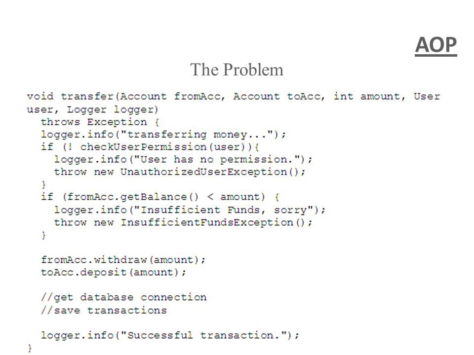 AOP The Problem