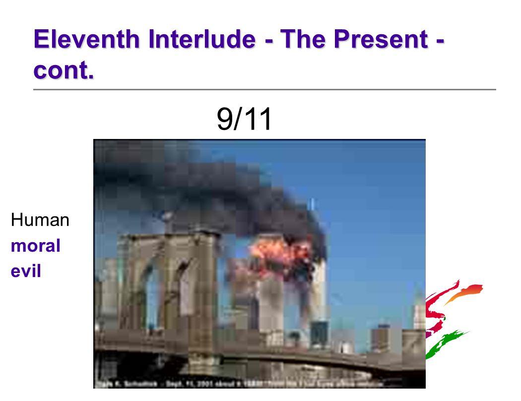 9/11 Human moral evil
