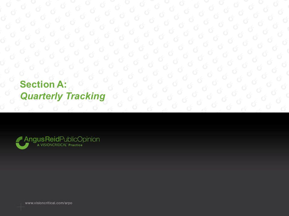 Section A: Quarterly Tracking