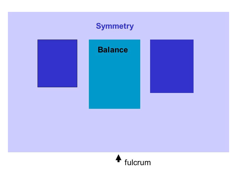 Balance fulcrum Symmetry